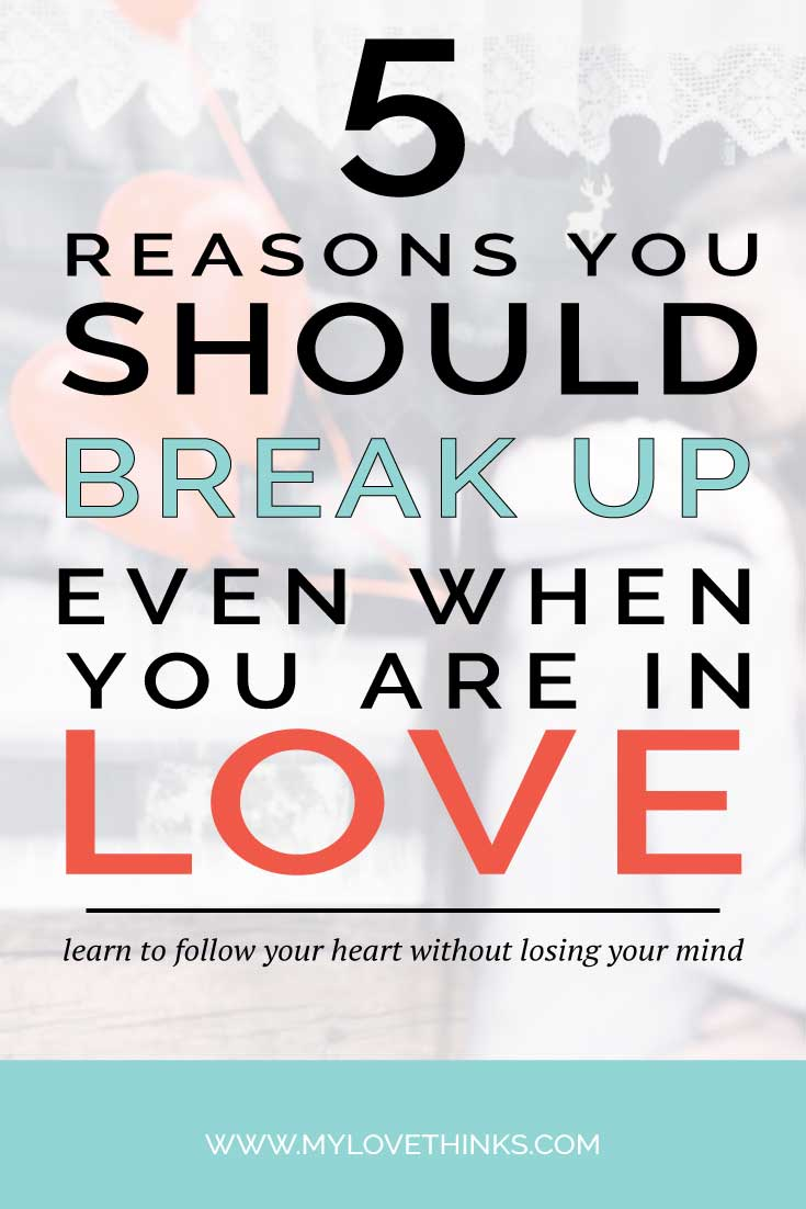 break up in love