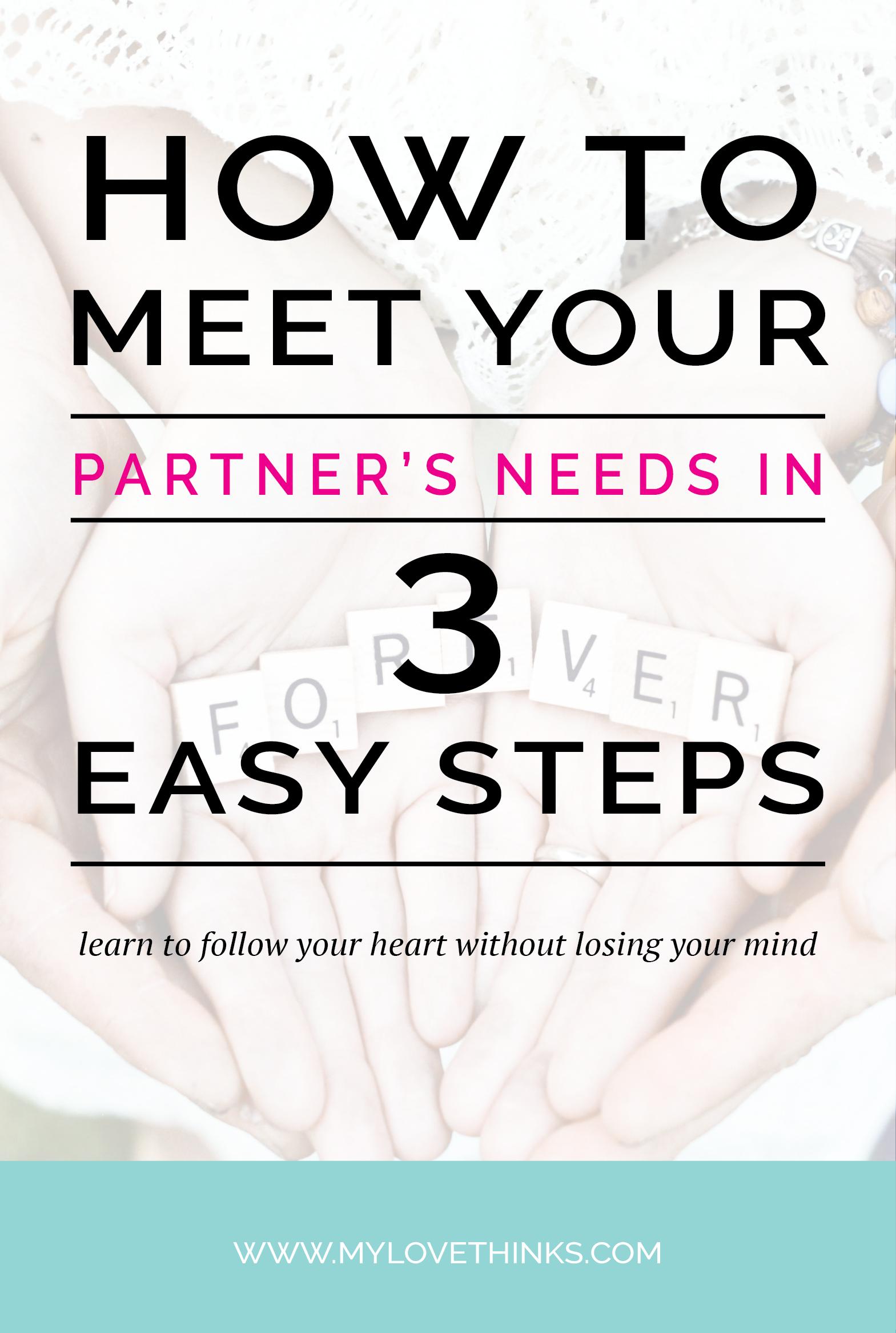 meeting partner's needs